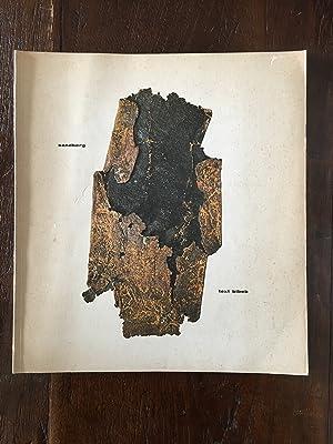 Experimenta typographica, 1943-1968 : Text bibeb: Sandberg,W. ; Bibeb