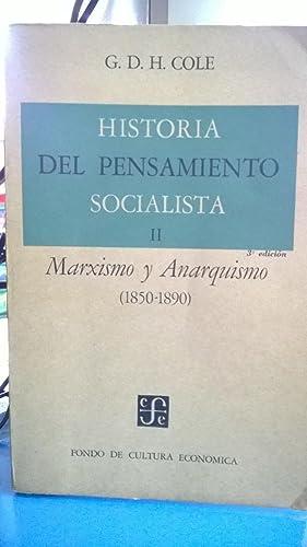 Historia del pensamiento socialista. Tomo II: Marxismo: Cole G.D.H.
