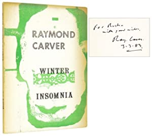 Winter Insomnia [Rare Issue in White Wrappers,: CARVER, Raymond