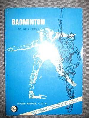 Imagen del vendedor de BADMINTON a la venta por LIBRERIA AZACAN