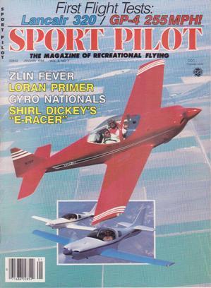 Sport Pilot (January 1988, Volume 4, Number: Schnepf, Edwin (pub.)
