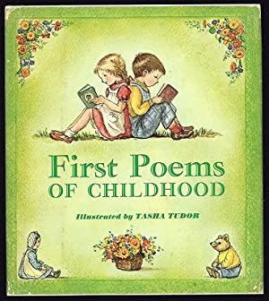 First Poems of Childhood. [FIRST EDITION - SIGNED BY AUTHOR]