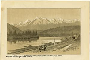 Montana - Clarke's Fork of the Columbia, Near Perma. / Hydraulic Mining in the Northwest.