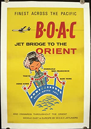 Finest Across the Pacific B.0.A.C. - Jet Bridge to the Orient and Onwards throughout the Orient M...