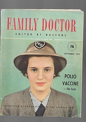 Family Doctor Magazine. September 1955. Polio Vaccine: Edited by Harvey