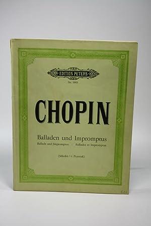 Balladen und Impromptus kritisch revidiert und mit: Chopin, Fryderyk: