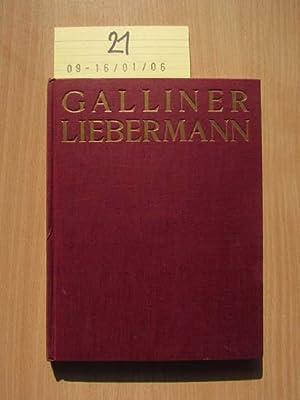 Max Liebermann, der Künstler und der Führer Jüdische Jugendbücherei, 1./2. Bändchen: Galliner, ...
