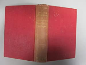 A History Of English Literature 650-1914: Legouis, Emile &