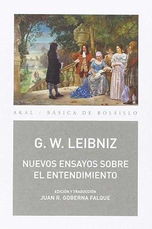 Nuevos ensayos sobre el entendimiento humano: Leibniz, G.W.