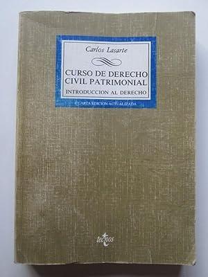 Curso De Derecho Civil Patrimonial: Carlos Lasarte
