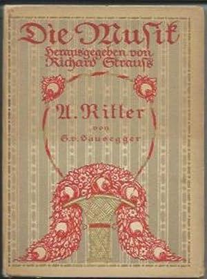 Alexander Sascha Ritter. Ein Bild seines Charakters und Schaffens.: Hausegger, Siegmund von