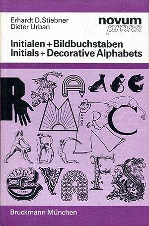 Bild des Verkäufers für Initialen+ Bildbuchstaben. Initials + Decorative Alphabets. zum Verkauf von Antiquariat am Flughafen
