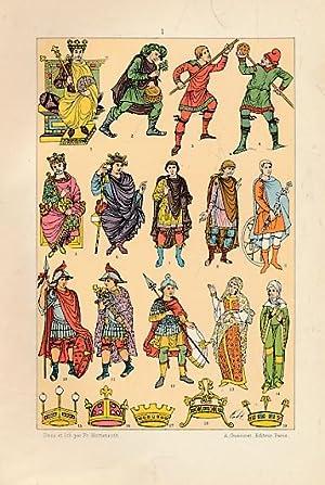 Le Costume chez les Peuples Anciens et: Hottenroth, Frédéric