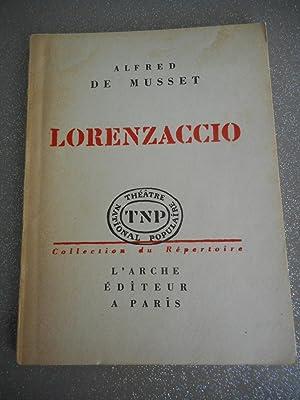 Image du vendeur pour Lorenzaccio mis en vente par Frederic Delbos