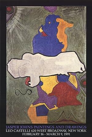 JASPER JOHNS Paintings and Drawings (Green Angel): Johns, Jasper