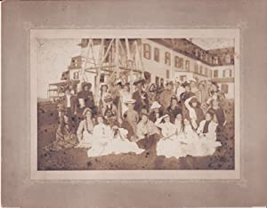 1910 Original Photo Acting Troupe Maisie Whiting: Not Listed