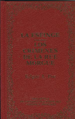 La esfinge - Los crimenes de la: Edgar Allan Poe