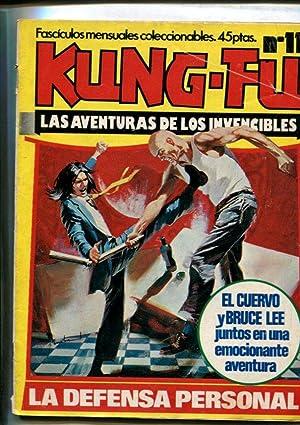 Kung Fu numero 11 (numerado 1 trasera),: Varios