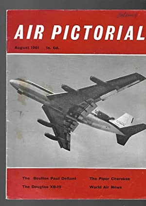 AIR PICTORIAL Magazine. August 1961. Journal of the Air League. The Boulton Paul Defiant; the Piper...