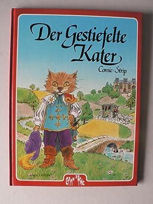 Der gestiefelte Kater - Comic-Strip. Ein Comic-Märchen: Juliette Levejac (Illustr.)/Charles