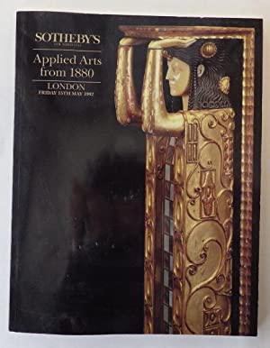 Applied Arts from 1880;