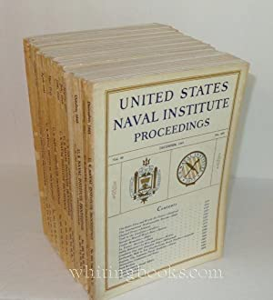 United States Naval Institute Proceedings 1943, Volume 69, Complete, Numbers 479-490