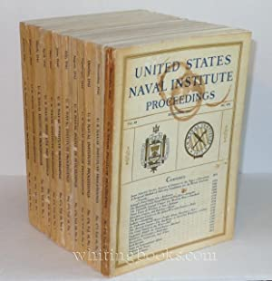 United States Naval Institute Proceedings 1942, Volume 68, Complete, Numbers 467-478