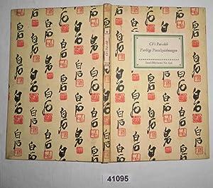 Farbige Pinselzeichnungen (Insel-Bücherei Nr. 636): Ch'i Pai-shih