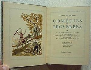 Comédies et proverbes: MUSSET (de), Alfred