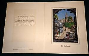 Old Macclesfield. Brocklehurst Embroidered Silk 1961: Brocklehurst-Whiston Limited.