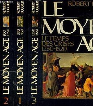 LE MOYEN AGE - 3 TOMES EN: FOSSIER ROBERT5