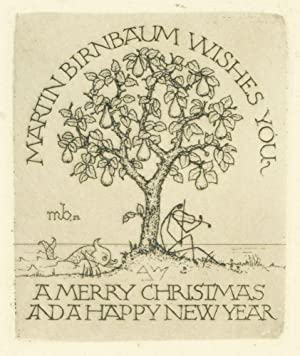 Arthur Rackham. A List of Books Illustrated by Him. With an Introductory Note by Martin Birnbaum.
