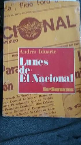 Lunes de El Nacional: Andrés Iduarte
