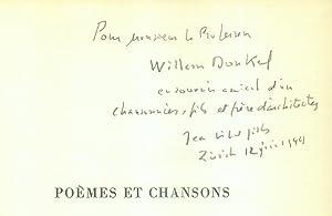 Poèmes et Chansons.: VILLARD-GILLES, Jean: