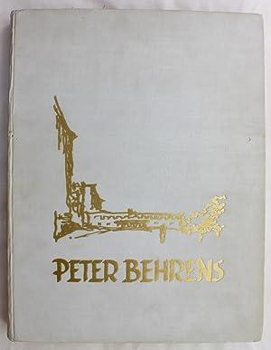 Peter Behrens: Sein Werk von 1909 bis: Cremers, Paul Joseph