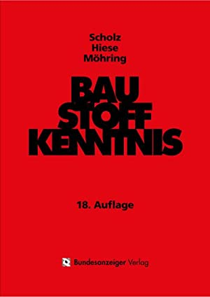 Baustoffkenntnis: Harald Knoblauch