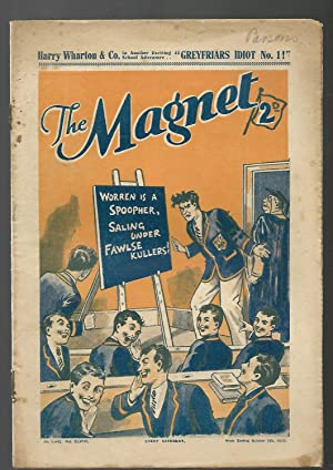 THE MAGNET. Billy Bunter's Own Paper. Week ending October 5th, 1935. Number 1442. Volume xlviii...