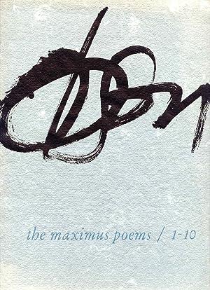 Immagine del venditore per The Maximus Poems / 1-10. (Jargon 7) und The Maximus poems 11-22 (Jargon 9) venduto da Antiquariat Nikolaus Weissert