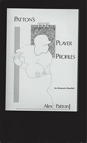 Patton's 1992 Player Profile for Rotisserie Baseball (Signed Letter)