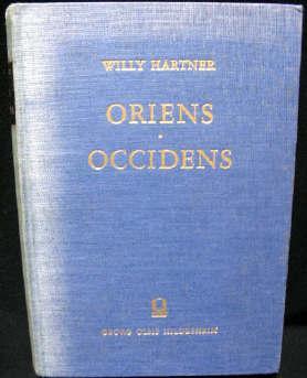 Oriens Occidens: Hartner, Willy