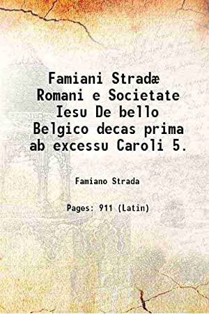 Famiani Stradæ Romani e Societate Iesu De: Famiano Strada