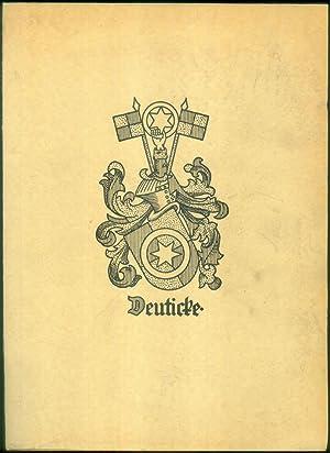 Vorwort von Karl Deuticke.: GESCHICHTE DER FAMILIE DEUTICKE.