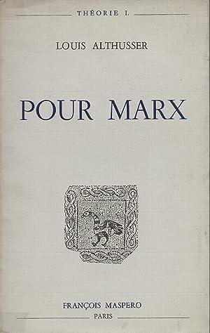Pour Marx.: ALTHUSSER (Louis).