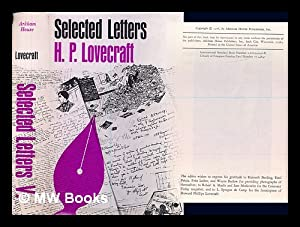 Selected Letters V 1934-1937 / Edited by: Lovecraft, Howard Phillips