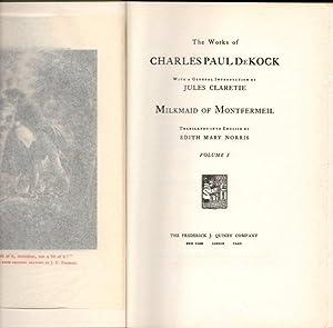 The Works of Charles Paul DeKock: Milkmaid: DeKock, Charles Paul;