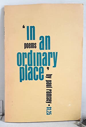 In an Ordinary Place - Poems - signiert