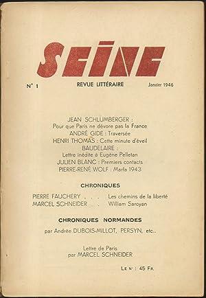 SEINE N° 1.: COLLECTIF (Jean Schlumberger,