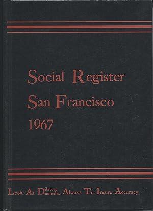 San Francisco Social Register 1967