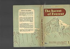 The Ascent of Everest: John Hunt. Foreword by Philip Duke of Edinburgh