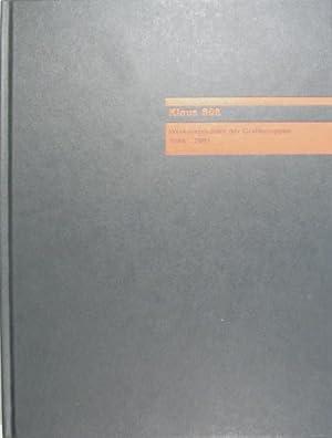 Werkverzeichnis der Grafikmappen 1984-2001.: Süß, Klaus. -